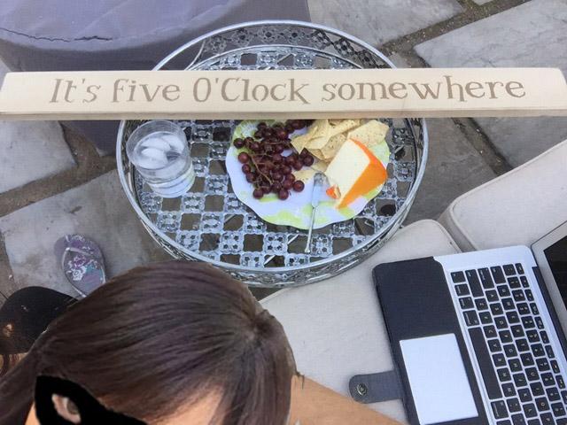 its 5oclock