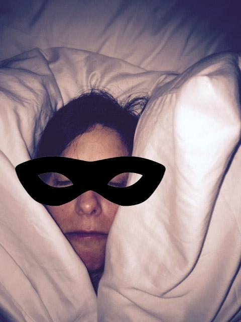 me asleep
