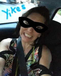 mom scared with 15 year driving